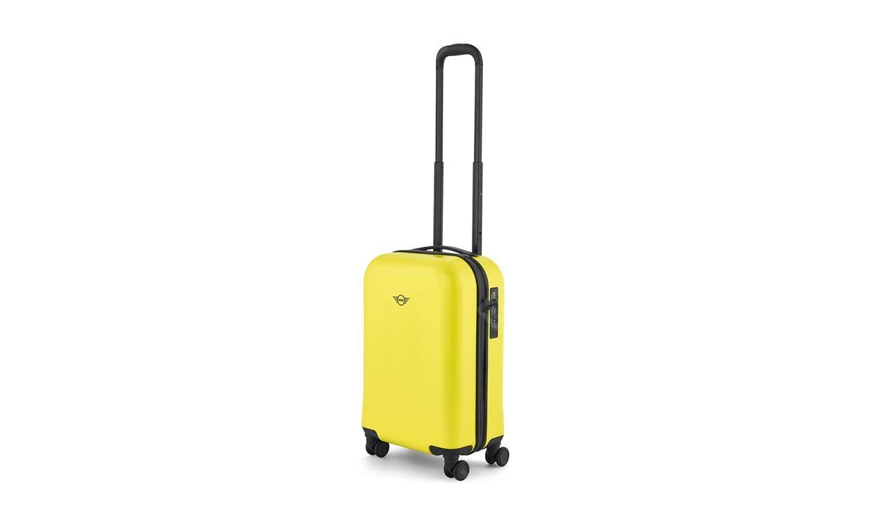 Фото Компактный чемодан MINI на колесиках, лимонный 80222445678