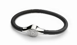 Фото Кожаный браслет BMW, унисекс 80232410952