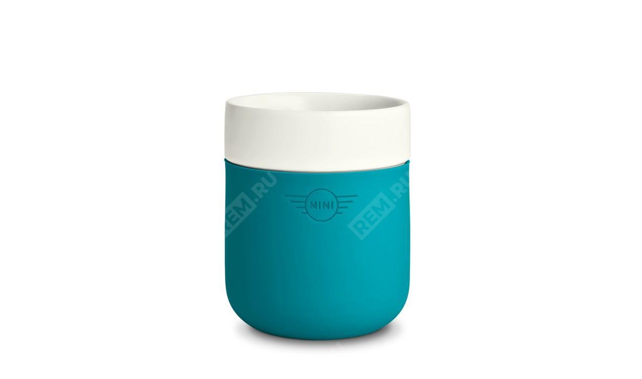 Фото Цветная чашка MINI, бирюзовый 80282445696