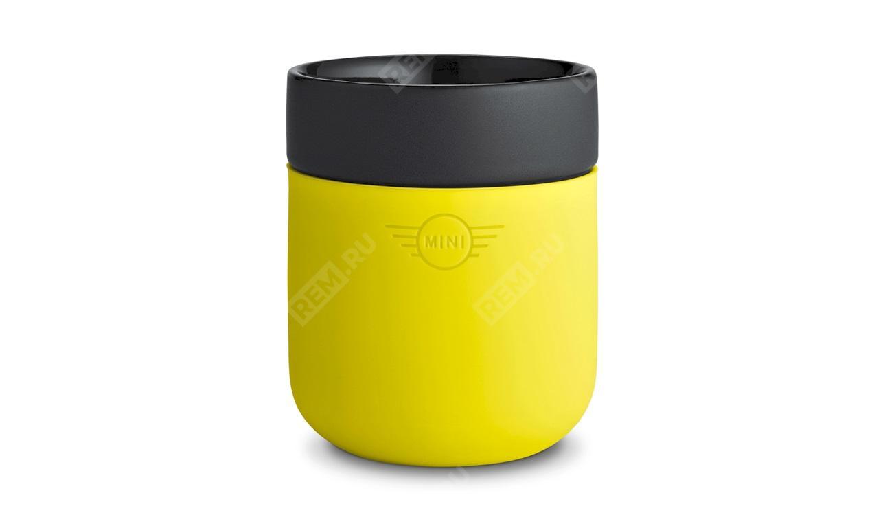 Фото Цветная чашка MINI, лимонный 80282445697