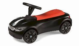 Фото Детский автомобиль BMW BabyRacer lll, черный/оранжевый 80932413782