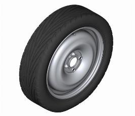 Аварийное колесо в сборе (докатка) 36101508367