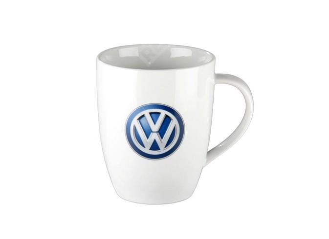 Фото Чашка  белая логотип VW синий 000069601D