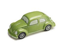 Фото Копилка Volkswagen, модель «жук», зеленая 111087709