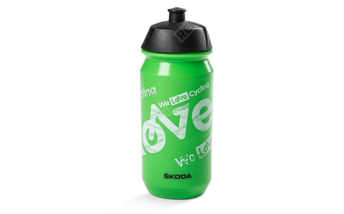 Фото Велосипедная бутылка для воды Skoda 000050309C