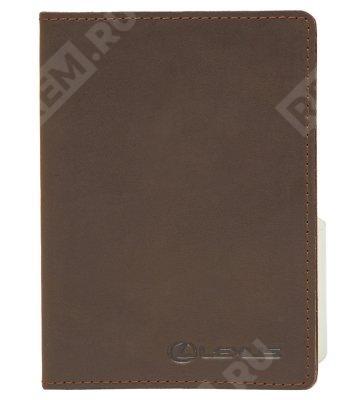 Фото Обложка для паспорта, Lexus, коричневая, casual LMCC00034L