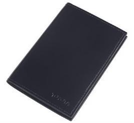 Фото Черная обложка для паспорта с логотипом Toyota TMSUV03PAS