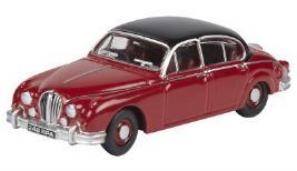 Модель автомобиля Jaguar Mark II Regency Red 1:76 Scale JBDC561RDA