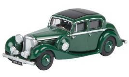 Модель автомобиля Jaguar SS 2.5 Saloon, Scale Model 1:76, Suede Green JBDC562GNA