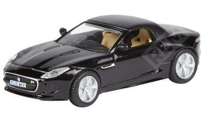Фото Модель автомобиля Jaguar F-Type, Scale Model 1:76, Black JBDC582BKA