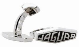 """Фото Запонки """"Jaguar"""" черные JDCF922BKA"""