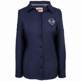Фото Рубашка женская, цвет темно-синий, размер 12 JDSW701NVK