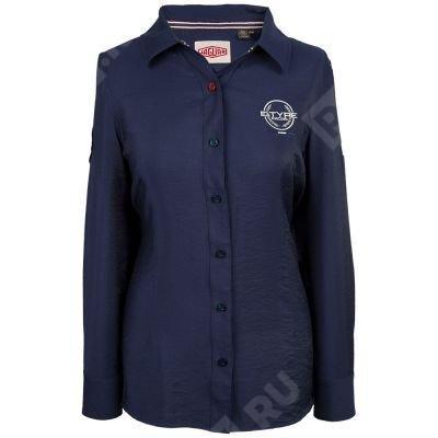 Фото Рубашка женская, цвет темно-синий, размер 16 JDSW701NVM