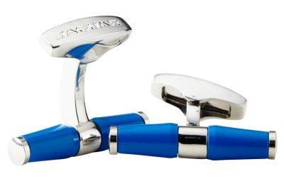 Фото Запонки Jaguar, голубые JJCLBARB