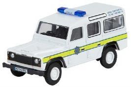 Модель автомобиля Land Rover Defender Station Wagon Garda, Scale Model 1:76, Fuji White LBDC543WTA