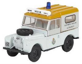 Модель автомобиля Land Rover Series 1 Gwynedd Health WT, Scale 1:76, White LBDC545WTA