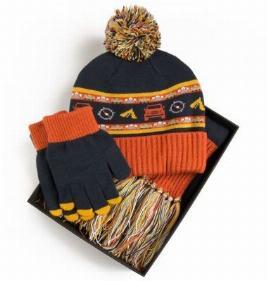 Фото Набор из шапки, шарфа и перчаток для детей Land Rover LDGF639NVA