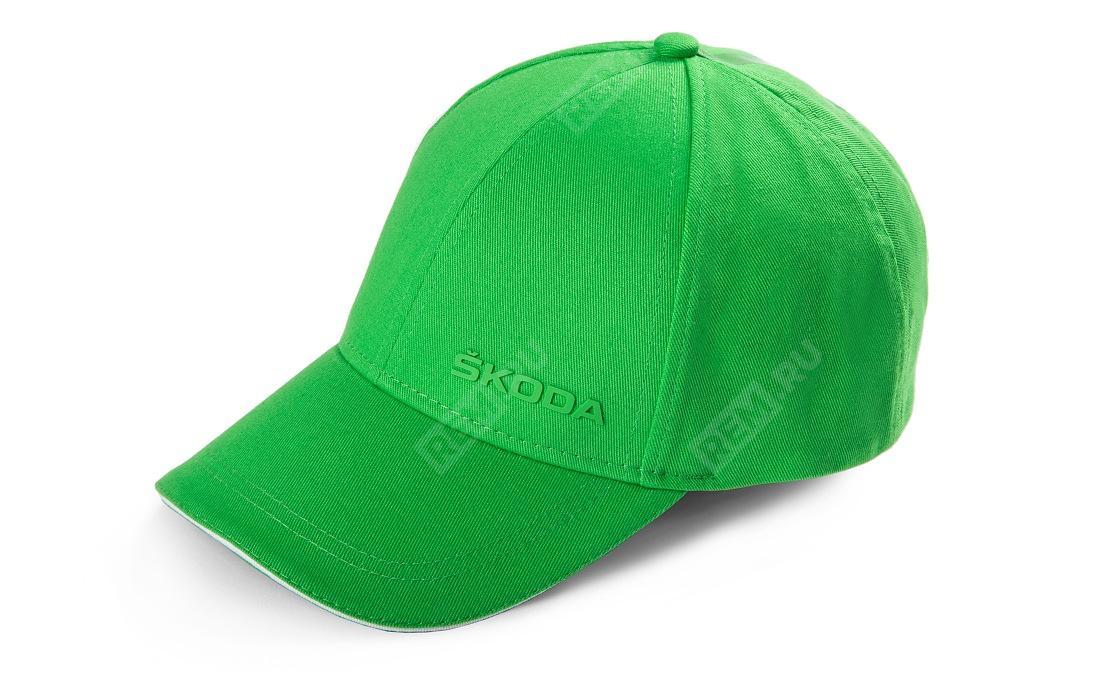 Фото Бейсболка Skoda, зелёная 000084300AN