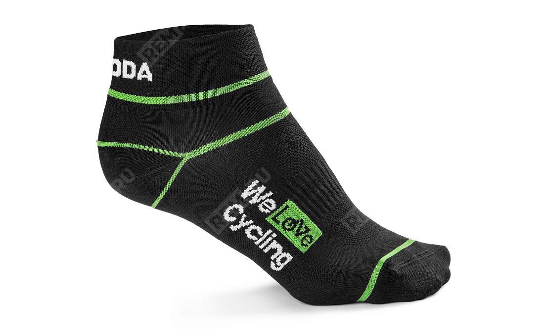 Фото Носки унисекс Skoda Sport Socks, размер 35-38 000084361C041