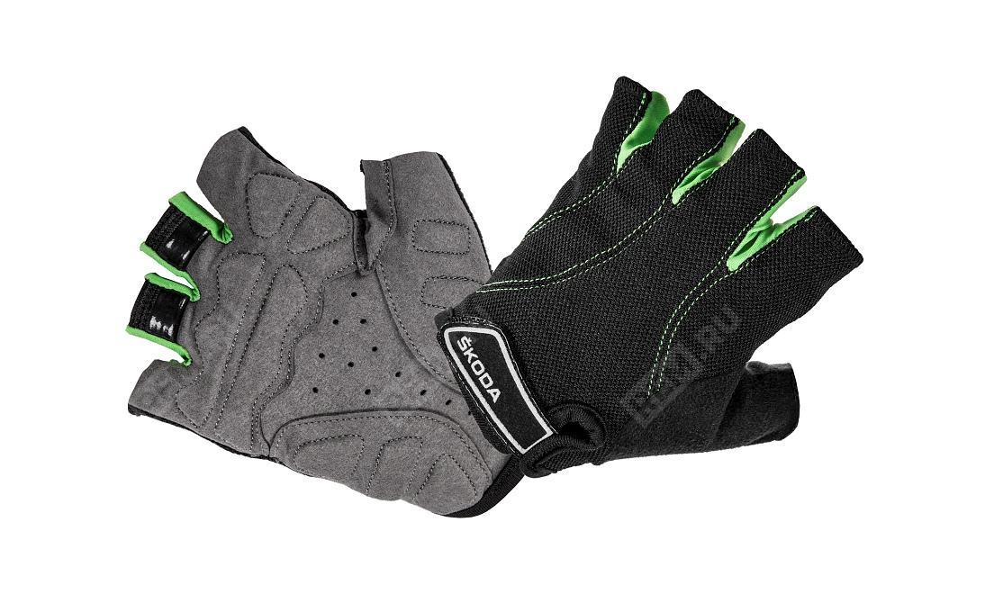 Фото Велосипедные перчатки Skoda, размер S 000084616CFBD