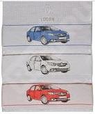 Фото Набор вафельных полотенец для пикника Renault Logan 7711547831