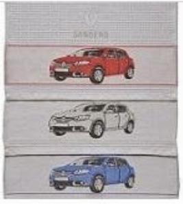 Фото Набор вафельных полотенец для пикника Renault Sandero 7711547832