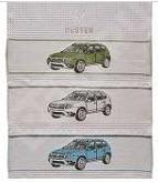 Фото Набор вафельных полотенец для пикника Renault Duster 7711547833