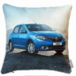 Фото Декоративная автомобильная подушка Renault Logan 7711547837