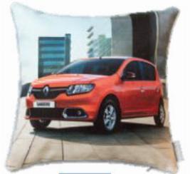 Фото Декоративная автомобильная подушка Renault Sandero 7711547838