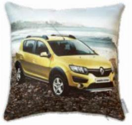 Фото Декоративная автомобильная подушка Renault Sandero Sptepway 7711547840