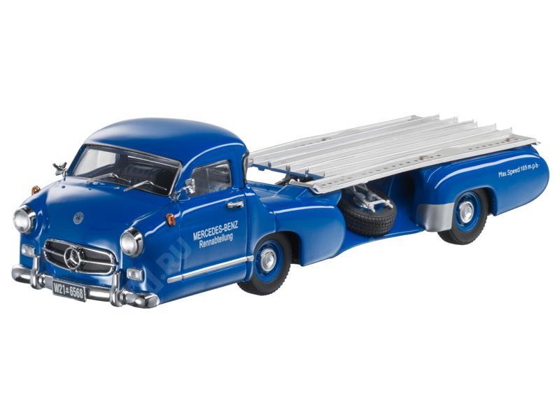 Автовоз для гоночных автомобилей (1955), 1:43, синий B66040569