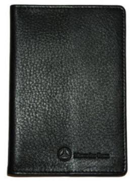 Фото Обложка для паспорта, черная B66950891