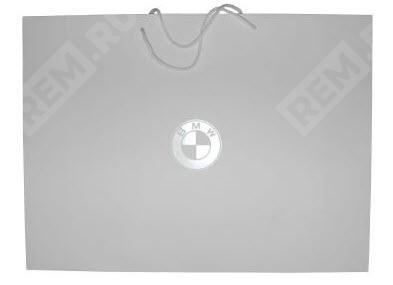 Фото Бумажный пакет BMW, размер L 80502452052
