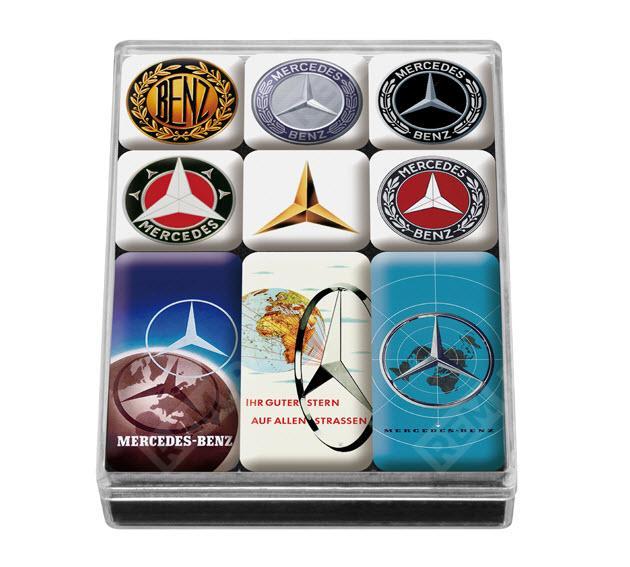 Фото Набор магнитов Mercedes-Benz B66041558