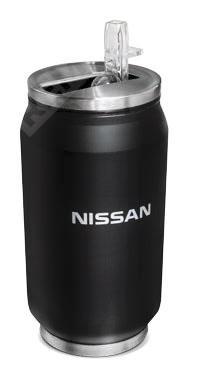 Фото Бутылка для воды Nissan, черная, 330мл 999BOTTLE
