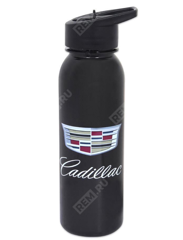 Фото Бутылка с логотипом Cadillac, с откидной крышкой 2152021