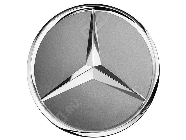 Колпачок литого диска с хромированной звездой, серый титан A22040001259771