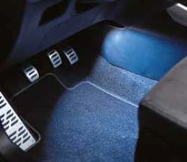 Фото Подсветка зоны ног водителя и переднего пассажира, красная 9900099080C16