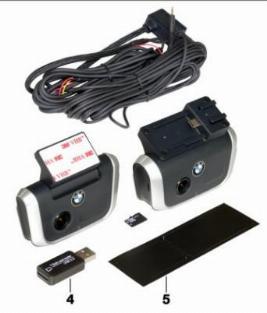 Фото Видеорегистратор BMW Ace 2.0 (две камеры) 66212457032