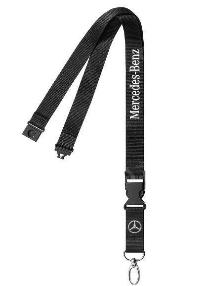 Фото Шнурок с карабином для ключей Mercedes-Benz Classic Star Lanyard B66958365XX1PC
