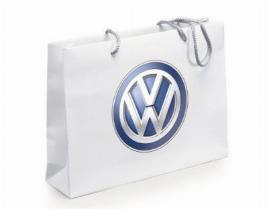 Фото Бумажный подарочный пакет с ручками Volkswagen 000087317C