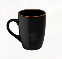 Кружка LADA, черная 00004029021200