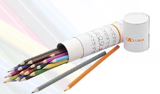 Фото Набор цветных карандашей LADA 00004029028200