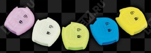 Фото Чехол ключа Suzuki, белый  9900079N12186