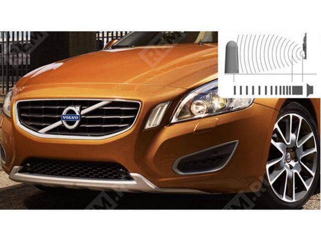 Фото Решетка переднего бампера под парктроник, для стандартного бампера 31323859