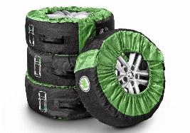 Комплект чехлов для колес Skoda 17-20 диаметра 000073900G