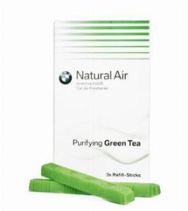 Фото Комплект сменных картриджей освежителя воздуха BMW Purifying Green Tea 83122285674
