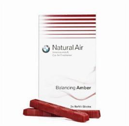 Фото Комплект сменных картриджей освежителя воздуха BMW Balancing Amber New 83122285676
