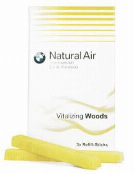 Фото Комплект сменных картриджей освежителя воздуха BMW Vitalizing Woods 83122285677