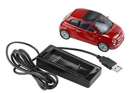 Фото Компьютерная мышь Fiat red new 500 50906961